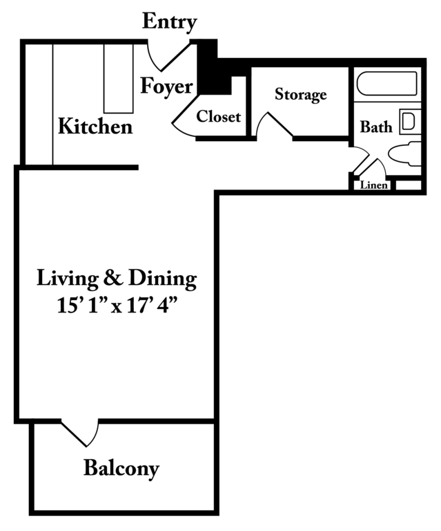 Richmond Va Apartments The Berkshire Floor Plans